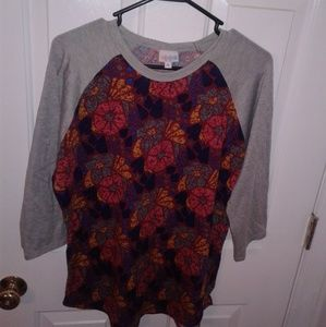 XL Lularoe Randy tee shirt blouse